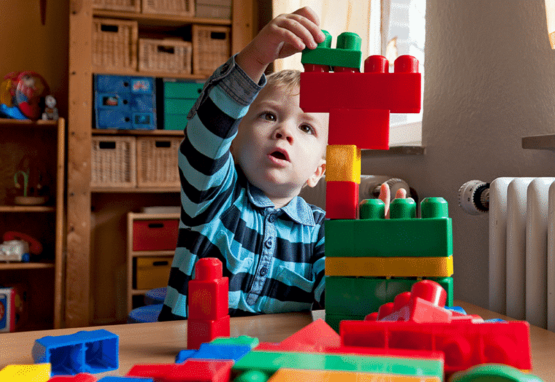 How do you encourage your children to pack away independently?