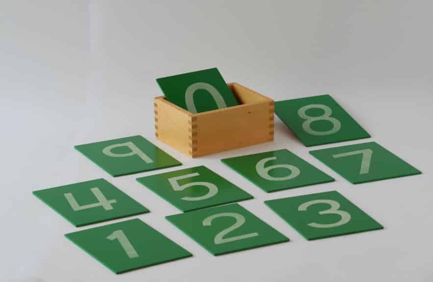 Material Spotlight: Sandpaper Numbers