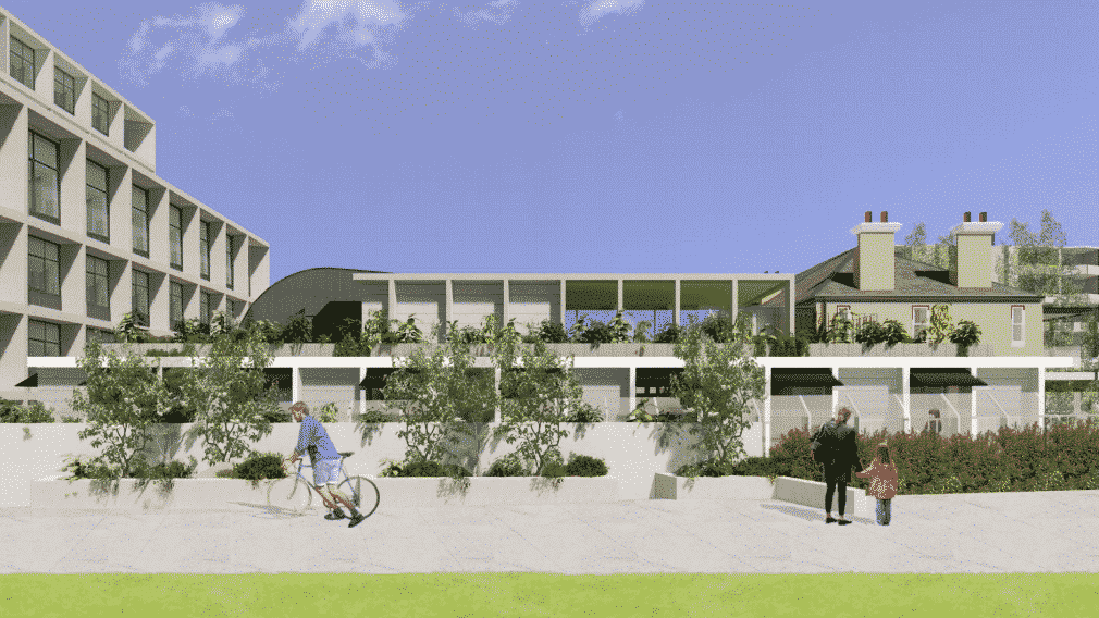 Childcare rendered drawings to visualise upcoming location